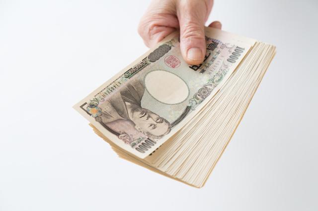 お金、返済、渡す